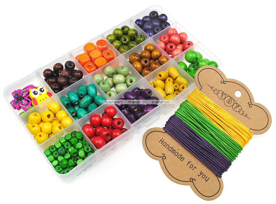 Kreatywny zestaw do robienia biżuterii, bransoletek dla dzieci, dziewczynek